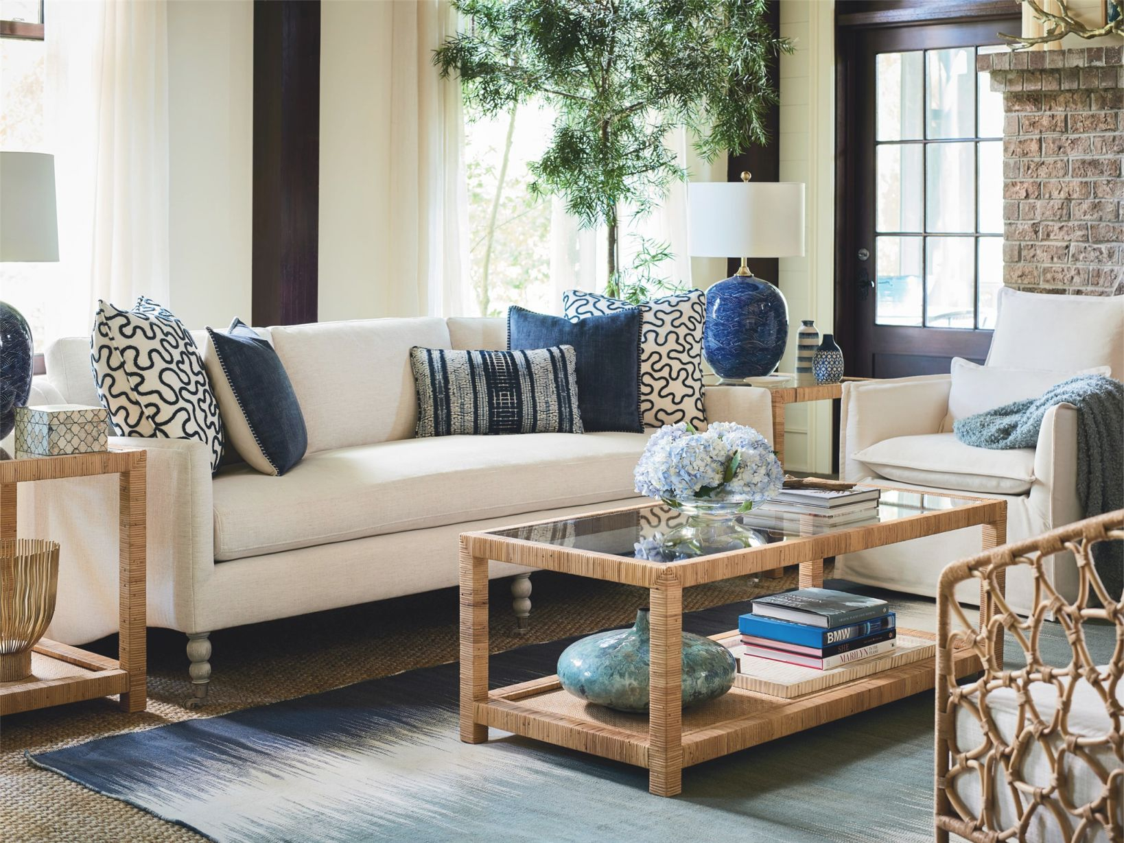 Escape-Coastal Living Home Collection Kiawah Sofa for Inspirational Coastal Living Room Furniture