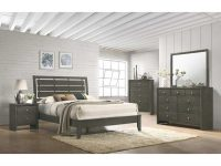 Evan Grey Dresser & Mirror pertaining to Awesome Bedroom Set Grey