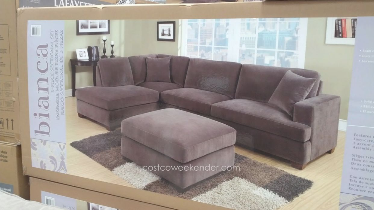 Piece Sectional Sofa Costco Living Room