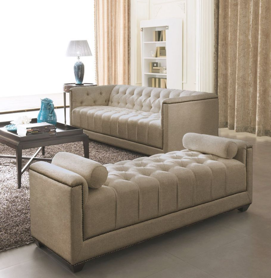 Fabric Sofa Set – Eden – Gold | Home Inspiration | Living within Awesome Modern Living Room Furniture