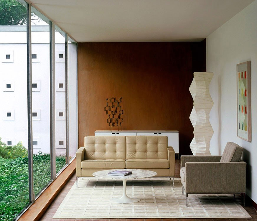 famous-florence-knoll-tufted-loveseat-collector-quality-designer-furniture