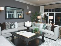 Faszinierend Brown Walls And Grey Couch Color Navy Light within Dark Gray Couch Living Room Ideas