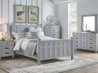Felicity 4Pc Queen Bedroom Set – Grey with Bedroom Set Grey