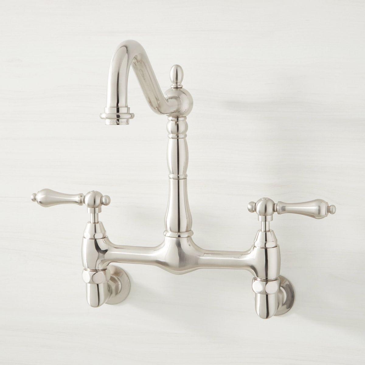 Felicity Wall-Mount Kitchen Faucet within New Wall Mount Kitchen Faucet