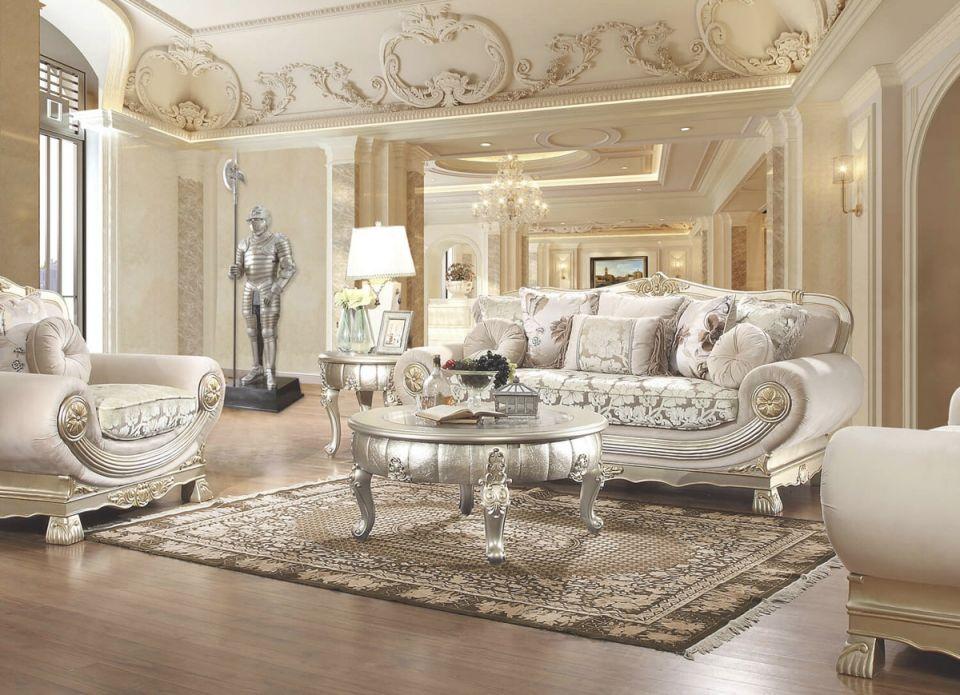 Ferrero Victorian Style Living Room pertaining to Unique Victorian Living Room Furniture