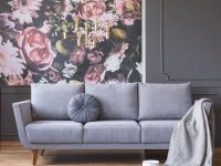 Floral Decor Is Growing Wild Again—And We Are Here For It in Floral Living Room Furniture