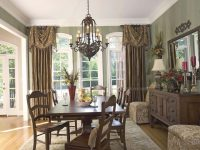 Formal Dining Room Curtain Ideas | Window Treatments in Beautiful Window Treatment Ideas For Living Room