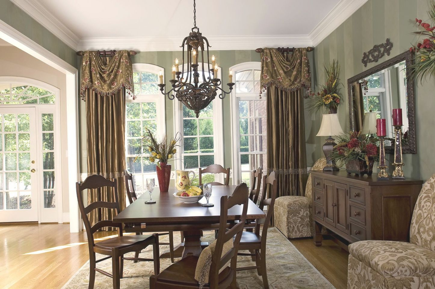 Formal Dining Room Curtain Ideas Window Treatments In Beautiful Window Treatment Ideas For Living Room Awesome Decors
