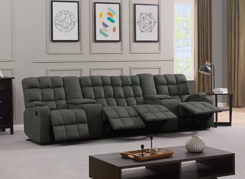 four-seat-tufted-reclining-sofa-with-cupholder-storage-consoles-for-media-room-living-room