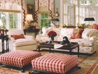 French Country Living Room With Floral Sofa – French Country inside New Floral Living Room Furniture