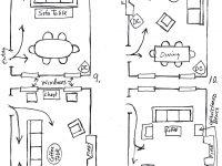 Furniture Arranging: One Room –> 12 Ways   Living Spaces In for Elegant Arranging Living Room Furniture