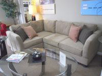 Furniture: Small L Shaped Costco Sectional In Beige With with regard to Lovely Costco Living Room Furniture
