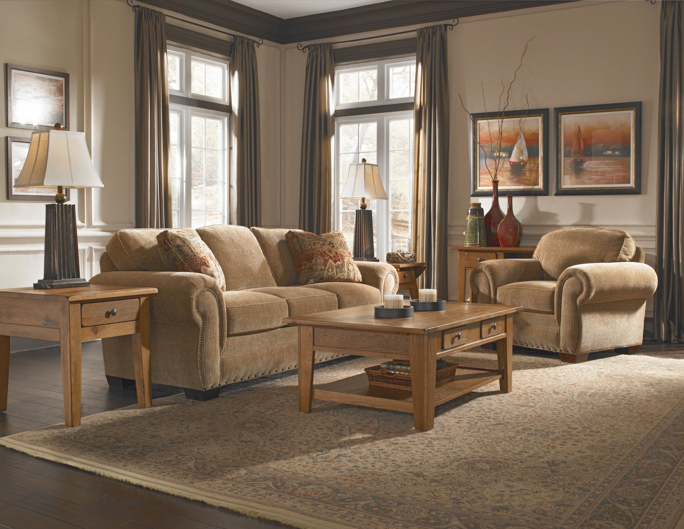 Furniture: Stunning Broyhill Sofas For Enchanting Living within