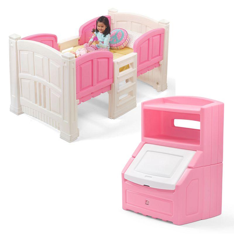 Girl's Loft & Storage Bedroom Set regarding Bedroom Set Girl