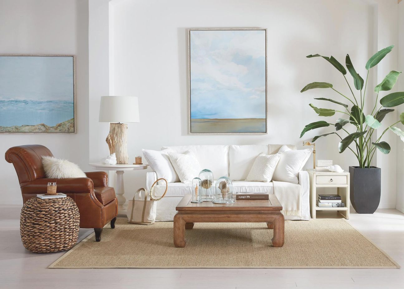 Go Coastal Living Room | Ethan Allen | Ethan Allen intended for Inspirational Coastal Living Room Furniture