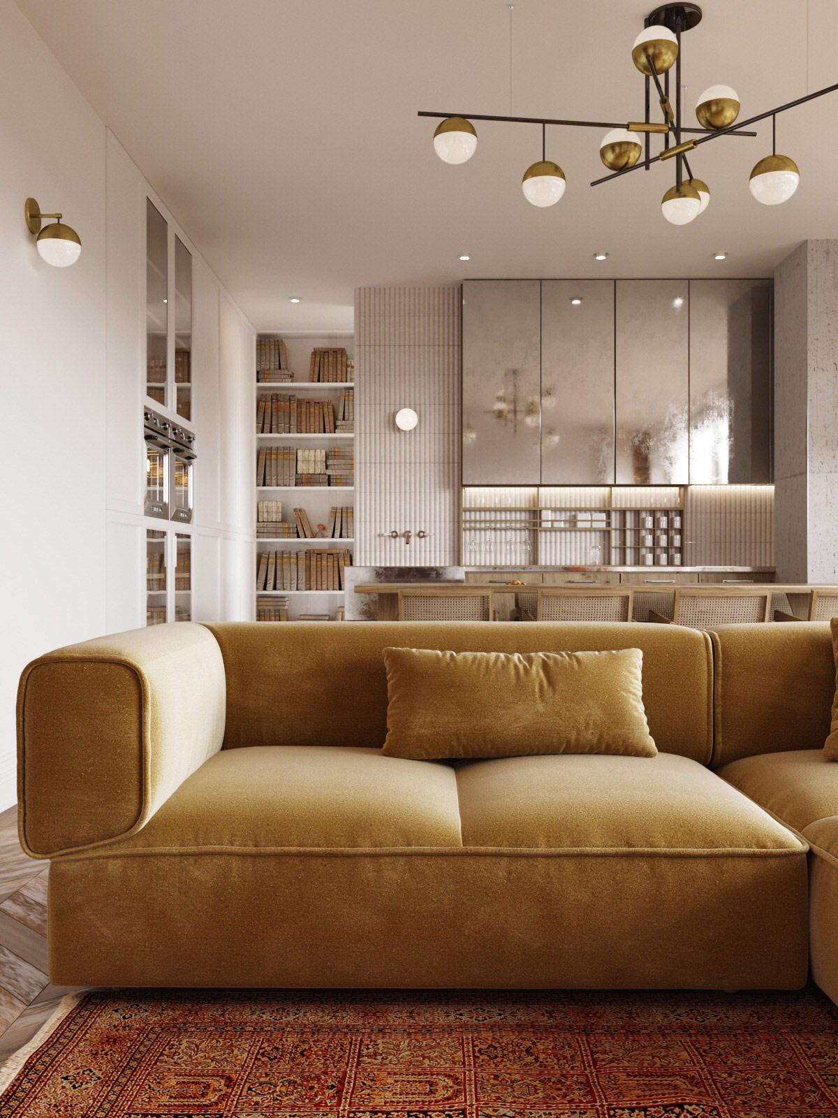 gold-modern-sofa