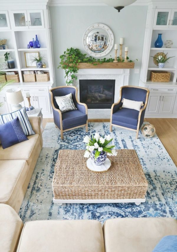 Gorgeous Coastal Living Room Decorating Ideas 25 | Cape within Coastal Living Room Furniture