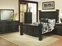 Granada 6 Pc Queen Bedroom Set | Queen Bedroom Set | Black intended for Bedroom Set Queen Black