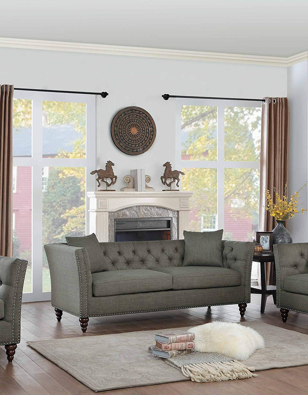 gray-tufted-sofa-tuxedo-style-with-flared-arms