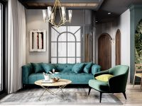 green-decor-living-room