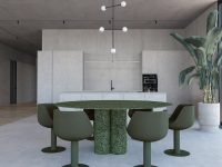grey-and-green-dining-room