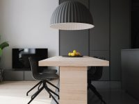grey-dining-room-pendant-light