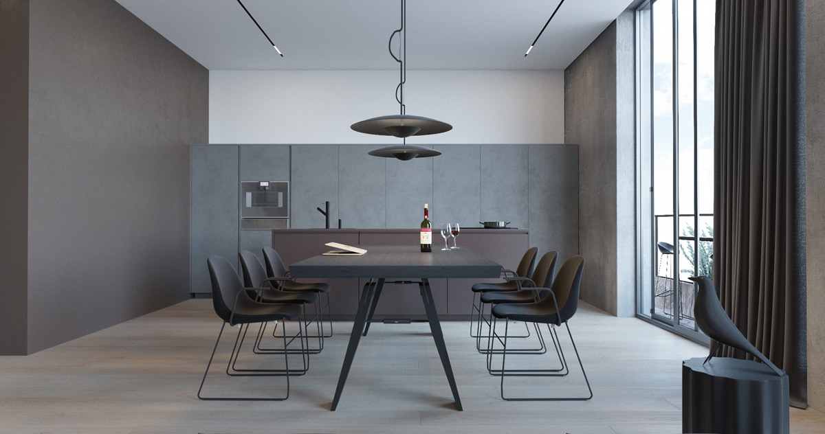 grey-dining-table-set