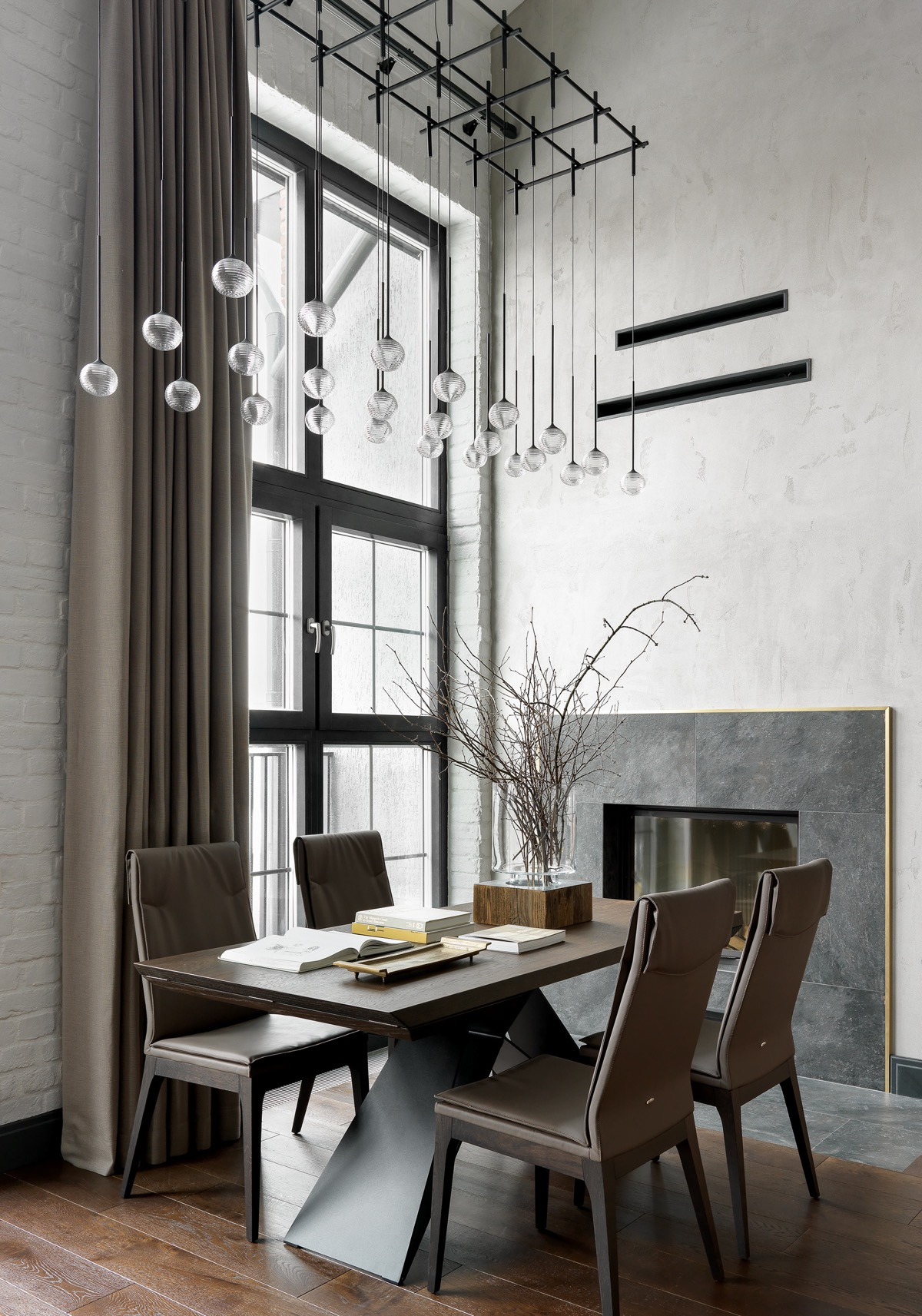 grey-faux-leather-dining-chairs