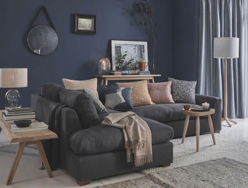 grey gray dark room decora sofa occasionstosavor