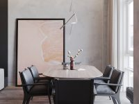 grey-leather-dining-room-chairs
