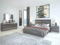 Hazel Premium Modern High-Profile Panel Bedroom Set in Bedroom Set Modern