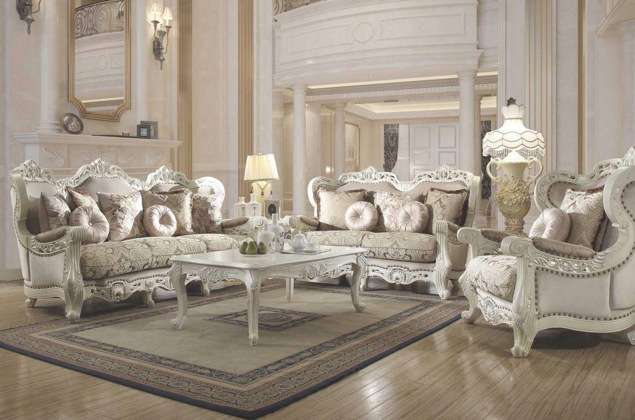 Hd 2657 Homey Design Upholstery Living Room Set Victorian, European & Classic Design Sofa Set throughout Victorian Living Room Furniture