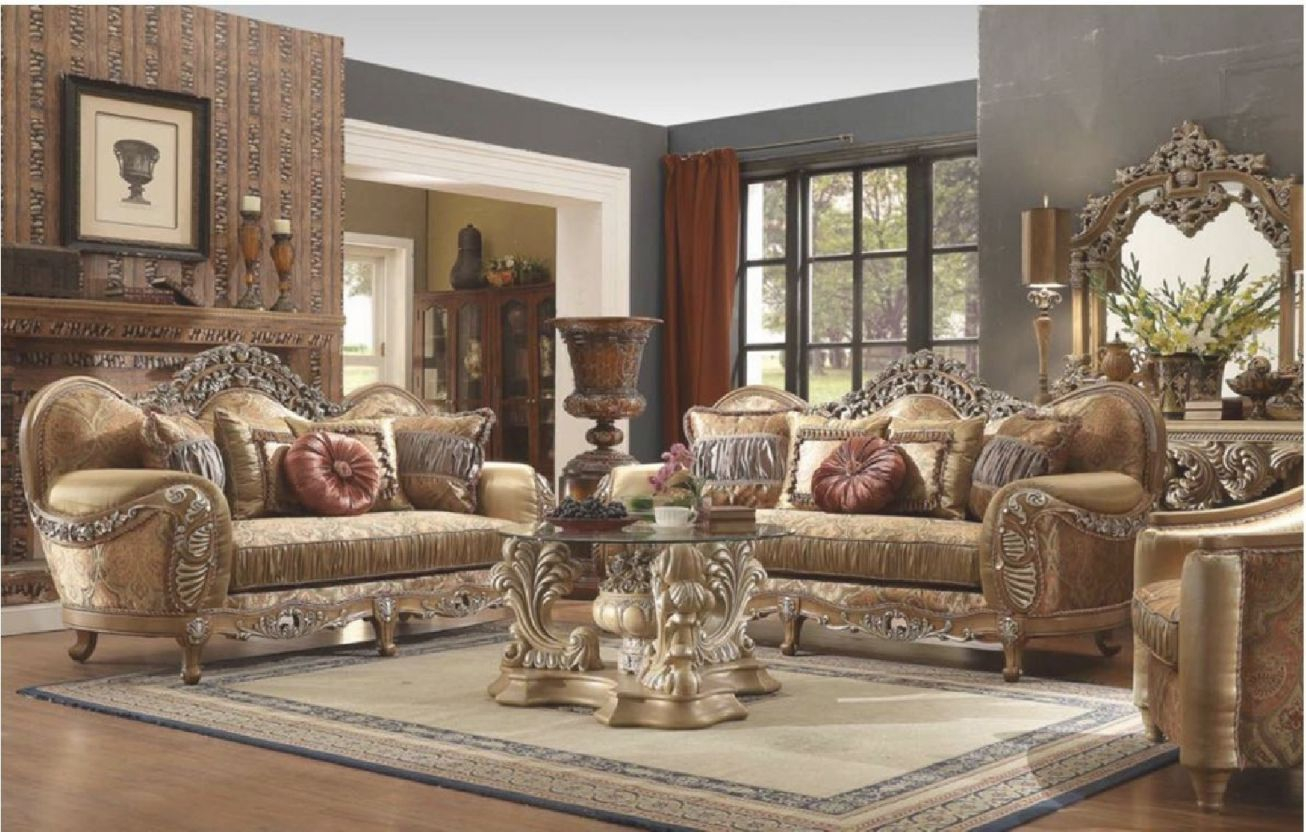 hd 622 homey design upholstery living room set victorian
