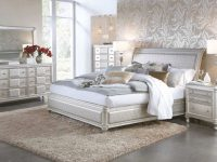 Hefner Silver 5 Piece Queen Bedroom Set within Beautiful Bedroom Set Queen
