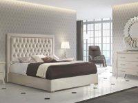 High End Modern Design Cream Bedroom Set in Luxury Bedroom Set Modern