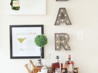 Home Bar Decor: Turn Your Boring Living Room Corner Around with Inspirational Living Room Corner Ideas