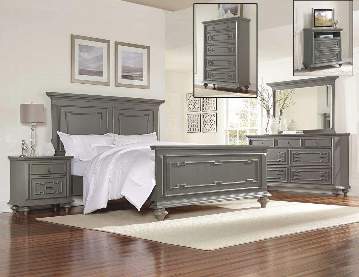 Homelegance Marceline Bedroom Set – Grey for Bedroom Set Grey