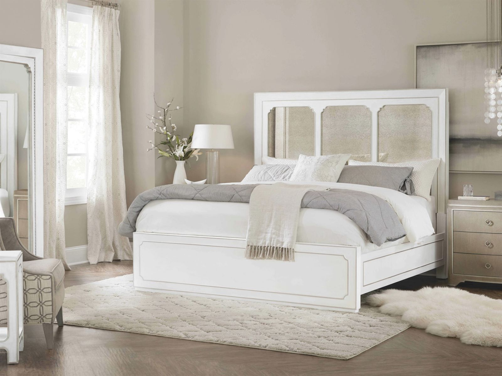 Hooker Furniture Modern Romance Bedroom Set for Luxury Bedroom Set Modern