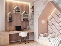house-themed-pink-childrens-bedroom