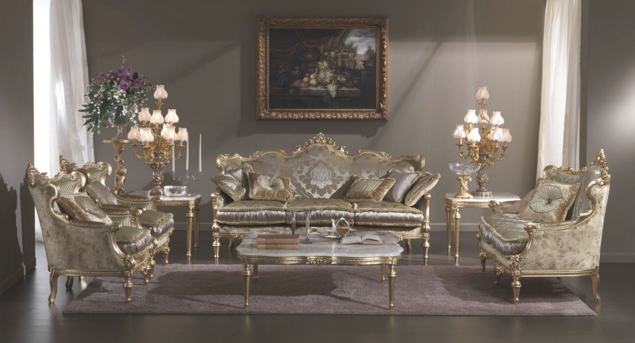 Ideas For Classic Furniture | Decoration | Antique Living with regard to Italian Living Room Furniture