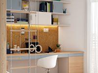 inspiring-kids-home-office-workspace-homework-station-design-ideas-with-corkboard-wall