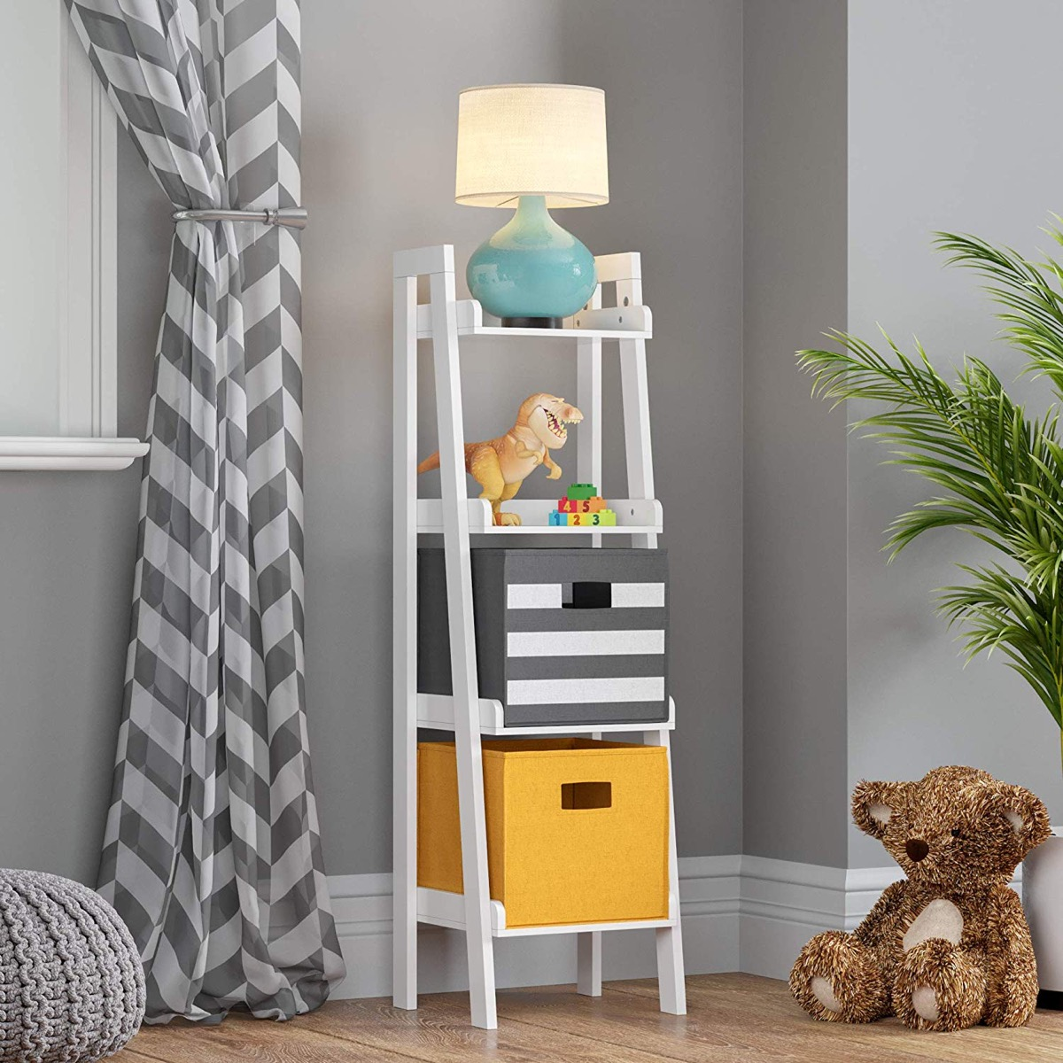 kids-room-ladder-shelf-white-non-tip-design