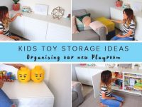 Kids Toy Storage Ideas- Organising Our New Play Room within Living Room Toy Storage Ideas