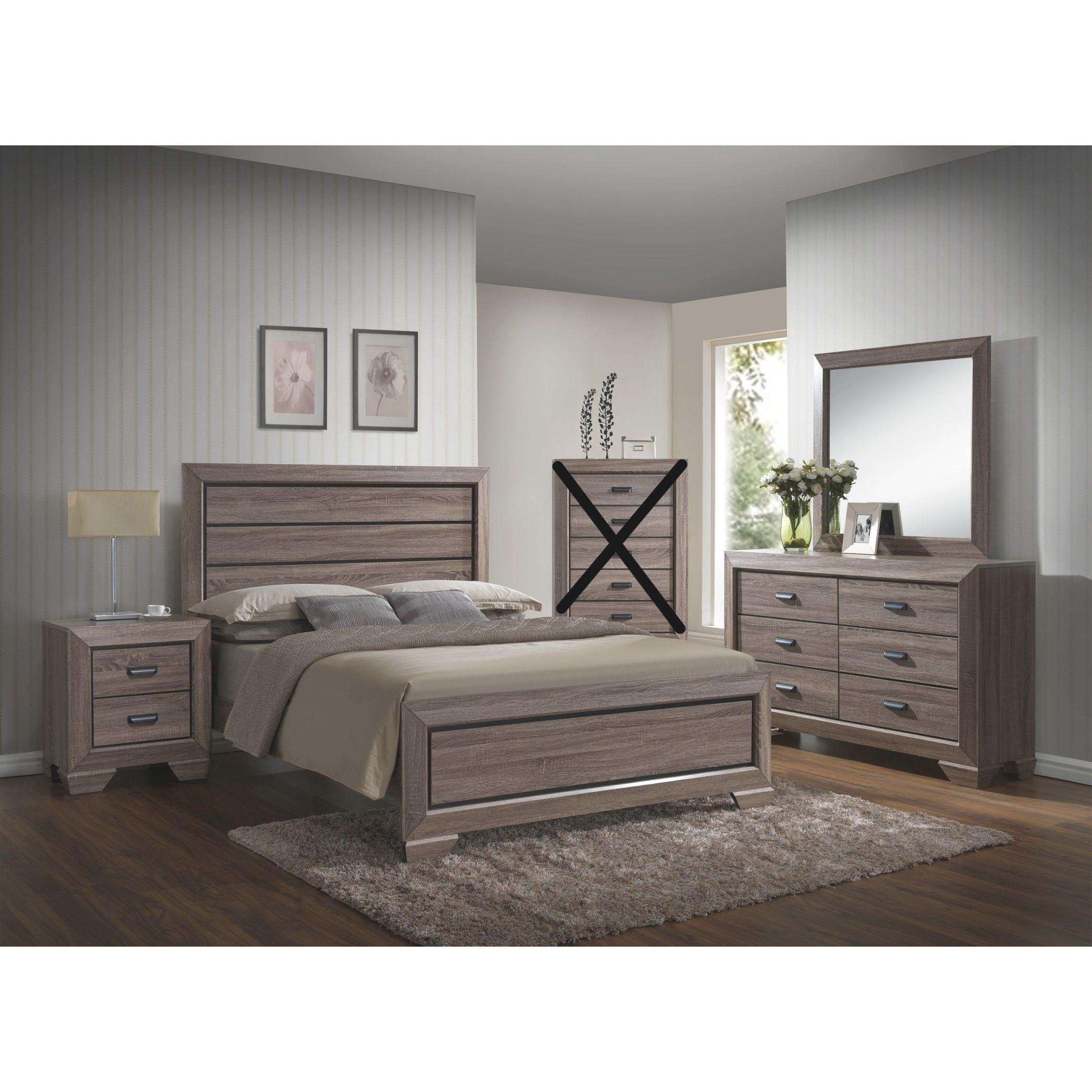 Large Scale Rustic Wooden Grey Queen Bedroom Set throughout Beautiful Bedroom Set Queen