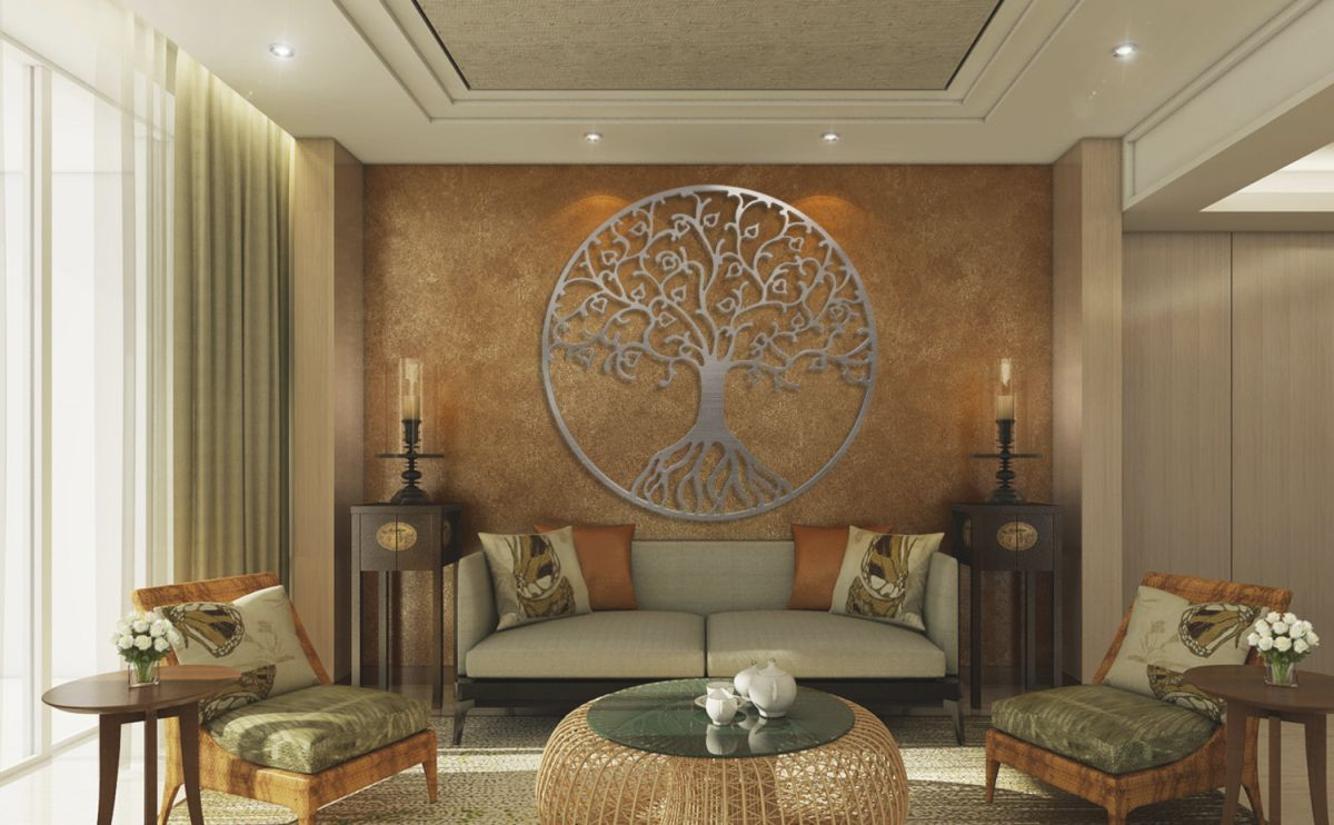 Elegant Large Wall Decor Ideas For Living Room - Awesome Decors