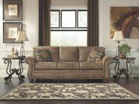 Larkinhurst Sofa-Earth regarding Leather Living Room Furniture