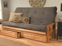 Leavittsburg Futon And Mattress within Best of Mission Style Living Room Furniture