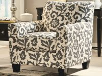 Levon – Charcoal Accent Chair In Floral Printsignature Designashley At Royal Furniture pertaining to Floral Living Room Furniture