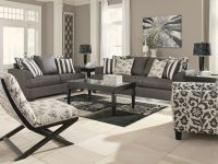 Levon Charcoal Living Room Set with regard to Modern Living Room Furniture Sets
