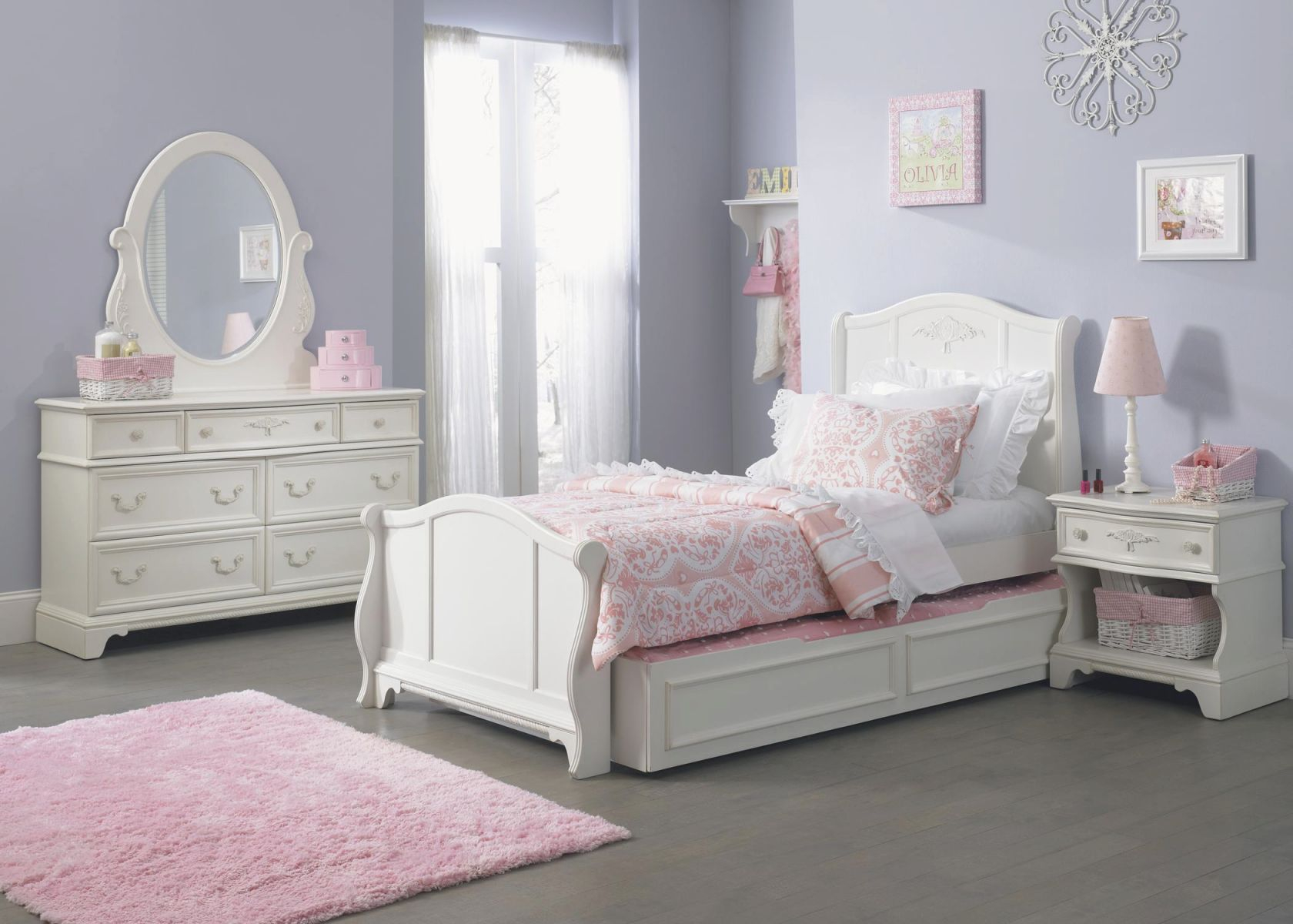 Liberty Furniture Arielle Youth Bedroom Twin Uph Panel with regard to Full Size Bed With Trundle Bedroom Set
